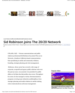 Red Patch Robinson joins 20_20 p1