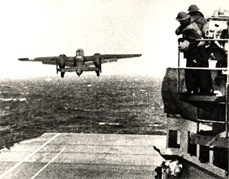 B-25 Hornet Flight